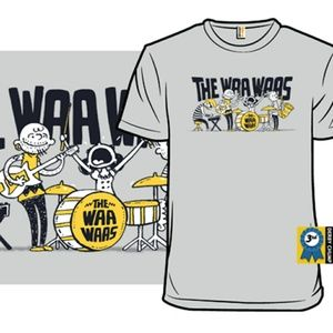 I Got a Rock Band Fake Band Shirt Peanuts Woot XL